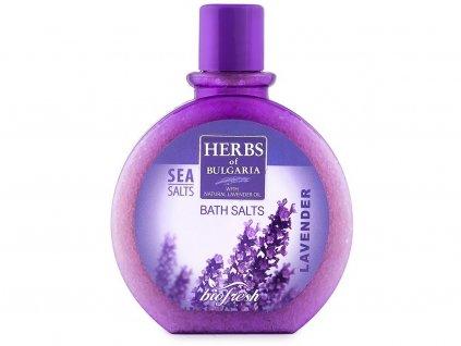Mořská koupelová sůl z levandule 360g Biofresh