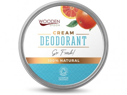 Bio Přírodní krémový deodorant GoFresh 60ml WondenSpoon