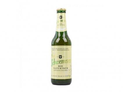 Bio nefiltrované pivo 0,5l SCHREMSER