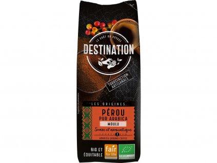 Bio mletá káva Peru Destination 250g Destination