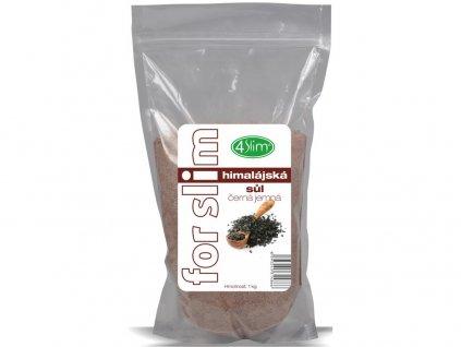 Himalájská sůl černá jemná 1kg 4Slim