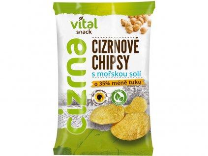 Chipsy cizrnové s mořskou solí 65g Rej