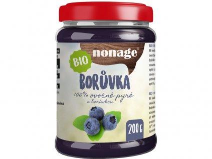 Bio Borůvkové ovocné pyré 200g Nonage