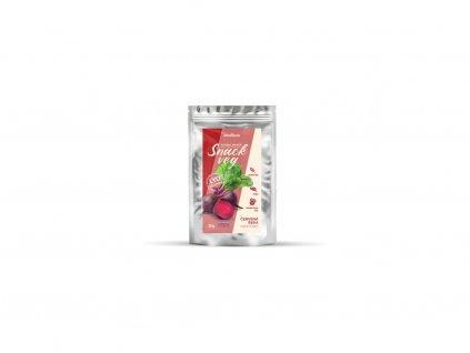 Červená řepa sušená ve vakuu Snack veg mini 10g Obezin