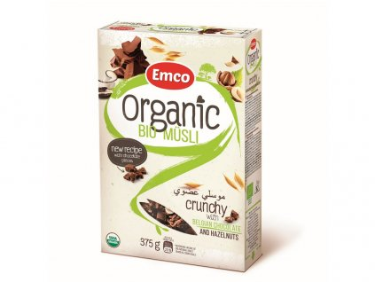 Bio Organic musli čokoládové 375g Emco
