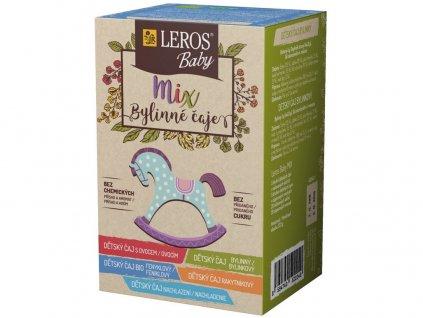 Baby mix bylinný čaj 4x2g Leros