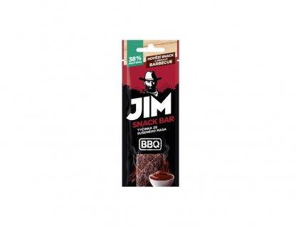 Hovězí snack s příchutí barbecue 17g JimJerky