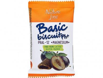Oplatka švestková Basic biscuit pH+ 50g Nature Line