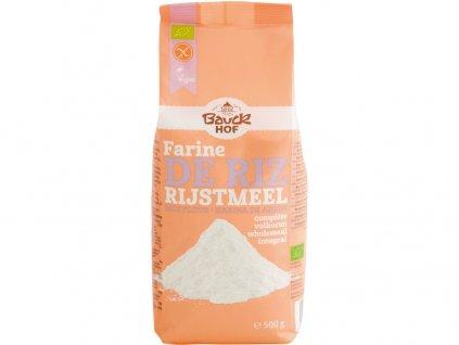 Bio mouka rýžová celozrnná 500 g Bauck Hof