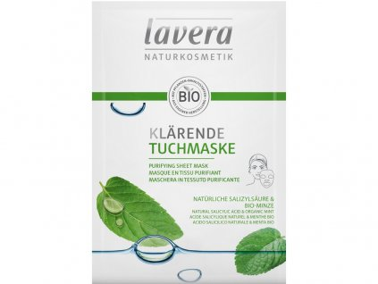 Čistící textilní maska 21ml Lavera