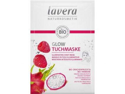 Rozjasňující textilní maska 21ml Lavera