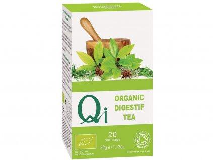 Bio zelený čaj Qi Digestif zažívací 20x1,6g