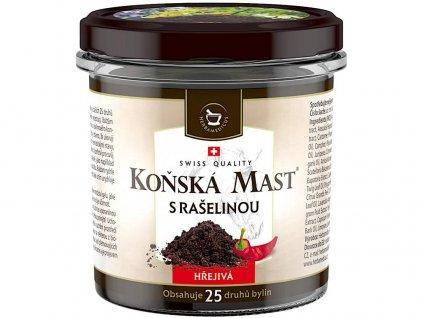 Koňská mast s rašelinou hřejivá 250 ml Herbamedicus