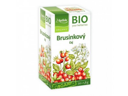 Apotheke BIO Brusinkový čaj 20x1,8g