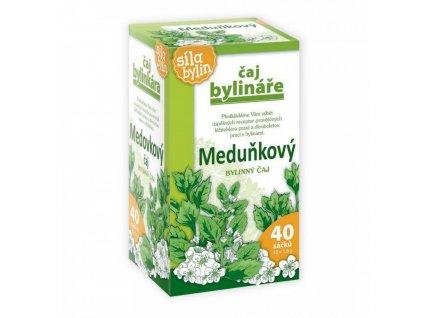 Meduňkový čaj 40x1,6g Bylinář