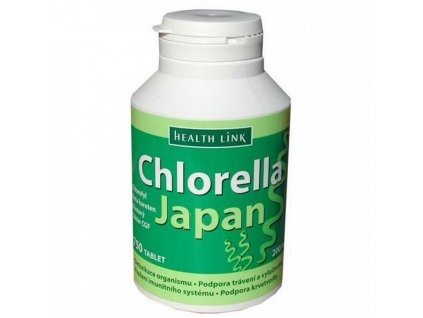 Health Link Chlorella japan 200mg 750tbl.