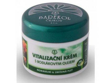Vitalizační krém s bodlákovým olejem 50ml Barekol