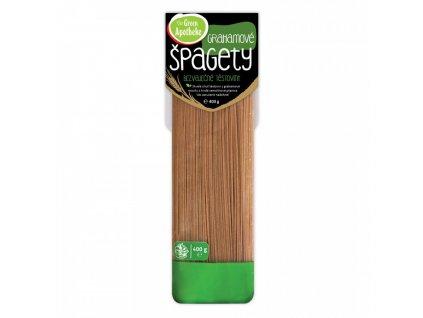 Green Apotheke Špagety Grahamové 400g