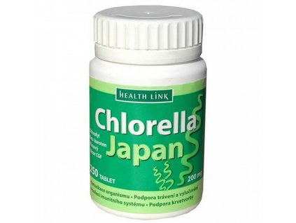 Health Link Chlorella japan 200mg 250tbl.