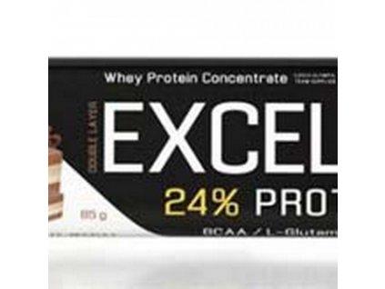 Excelent proteinová tyčinka Čoko-nugát-brusinky 85g