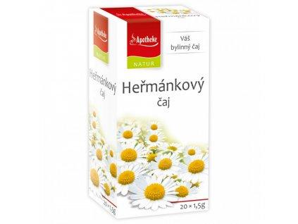 Heřmánkový čaj 20x1,5g Apotheke Natur