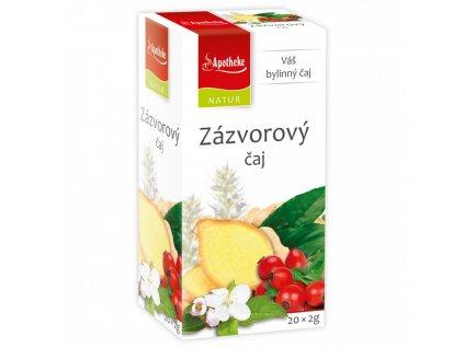 Zázvorový čaj 20x2g Apotheke Natur