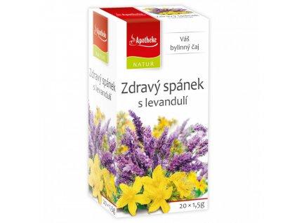 Zdravý spánek s levandulí čaj 20x1,5g Apotheke Natur