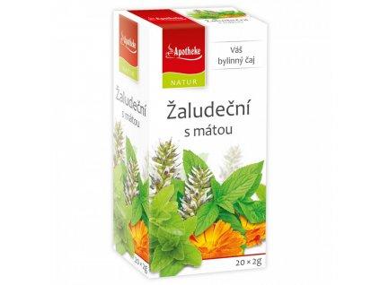 Žaludeční s mátou čaj 20x2g Apotheke Natur
