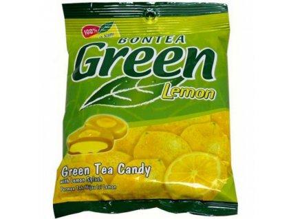 Bontea Bonbony se zeleným čajem a citronem 155g