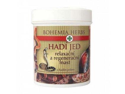 Bohemia Herb Hadí jed mast regenerační 125ml