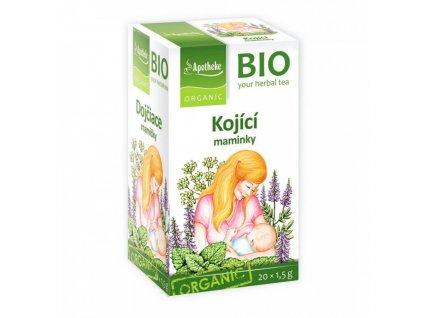 Apotheke BIO Kojící maminky čaj 20x1,5g