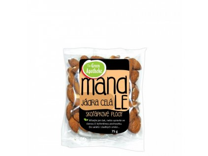 Green Apotheke Mandle jádra natural 75g