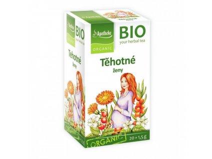 Apotheke BIO Těhotné ženy čaj 20x1,5g