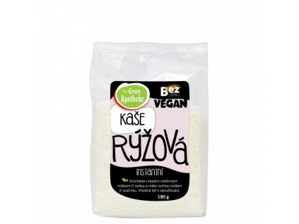 Green Apotheke Kaše Rýžová instantní 180g