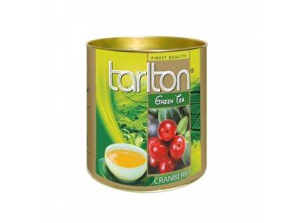 zelený čaj BRUSINKA 100g Tarlton