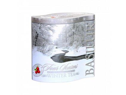 Four seasons Winter tea 100g plech Basilur