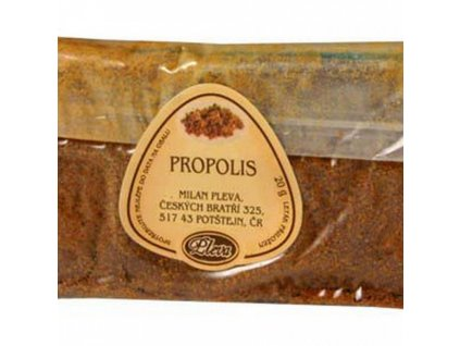Surový propolis 20g Pleva