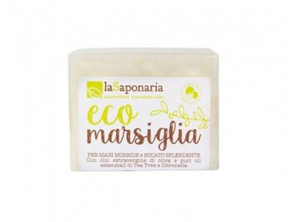 AKCE laSaponaria Marseillské mýdlo na ruční praní BIO (200 g)