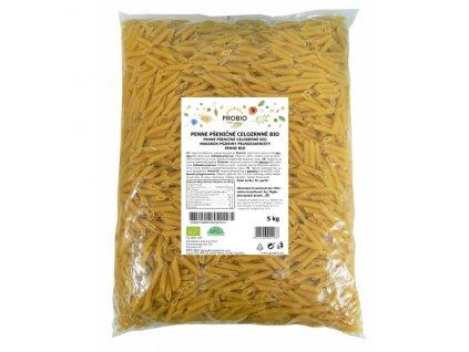 GASTRO - Penne pšeničné celozrnné 5 kg BIO PROBIO