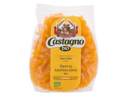 Kukuřično - rýžové těstoviny (FUSILLI - vřetena) BIO 250 g CASTAGNO