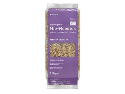 Nudle pšeničné celozrnné instantní 250 g BIO ALB GOLD