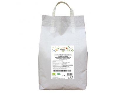 GASTRO - Mouka pšeničná celozrnná hrubě mletá 4 kg BIO PROBIO