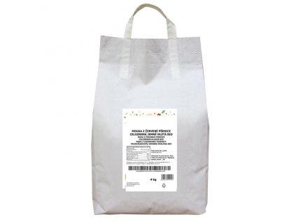 GASTRO - Mouka z červené pšenice celozrnná jemně mletá 4 kg BIO PROBIO