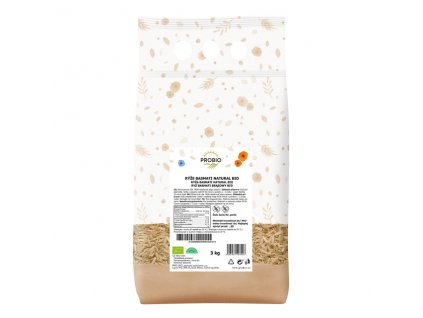 GASTRO - Rýže basmati natural 3 kg BIO PROBIO
