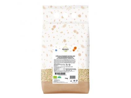 GASTRO - Rýže kulatozrnná natural 3 kg BIO PROBIO