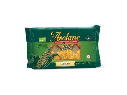 Nudle kukuřičné vlasové BEZLEPKOVÉ (Capellini) 250 g BIO LE ASOLANE