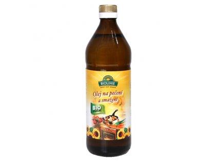 Olej slunečnicový na pečení a smažení 750 ml BIO BIOLINIE