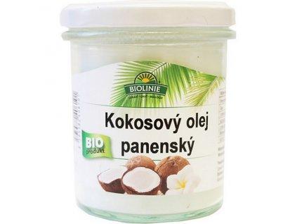 Olej kokosový panenský 240 g BIO BIOLINIE