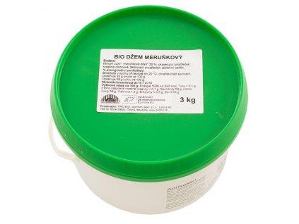 GASTRO - Džem meruňkový 3 kg BIO
