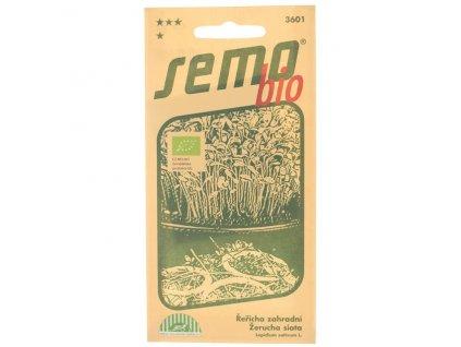 Řeřicha zahradní PLAIN 3 g BIO Semo